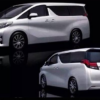 トヨタ新型「アルファード/ヴェルファイア」のデザイン画像がリーク。助手席ロングスライド搭載確実!!インパネはランクル似かもしれません。
