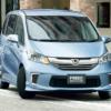 ホンダ新型「フリード」いつ販売?ダウサイジング+HVで燃費は30km/L超となるのか?現行フリード最新買取相場?